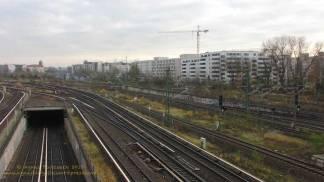 Groth-Baustelle am Mauerpark, Sonntag, 26. November 2017