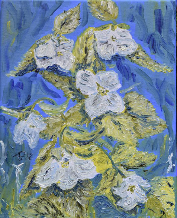 Malerischer Blumengruß
