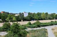 Der leere Park - ein eher ungewohnter Anblick. Es ist aber Samstagvormittag. Der Trubel geht erst später los.