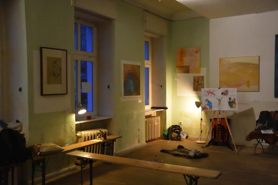 Snegurotschka – die Lesung im leerenNiesen