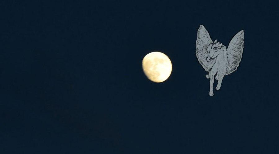 Auftritt Pegasus