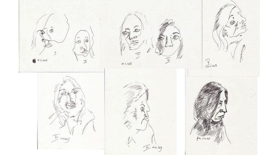 Blind zeichnen: perfekte Überlistung der FrauPerfektionismus