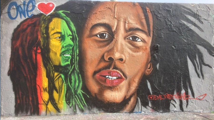 Marley im Mauerpark