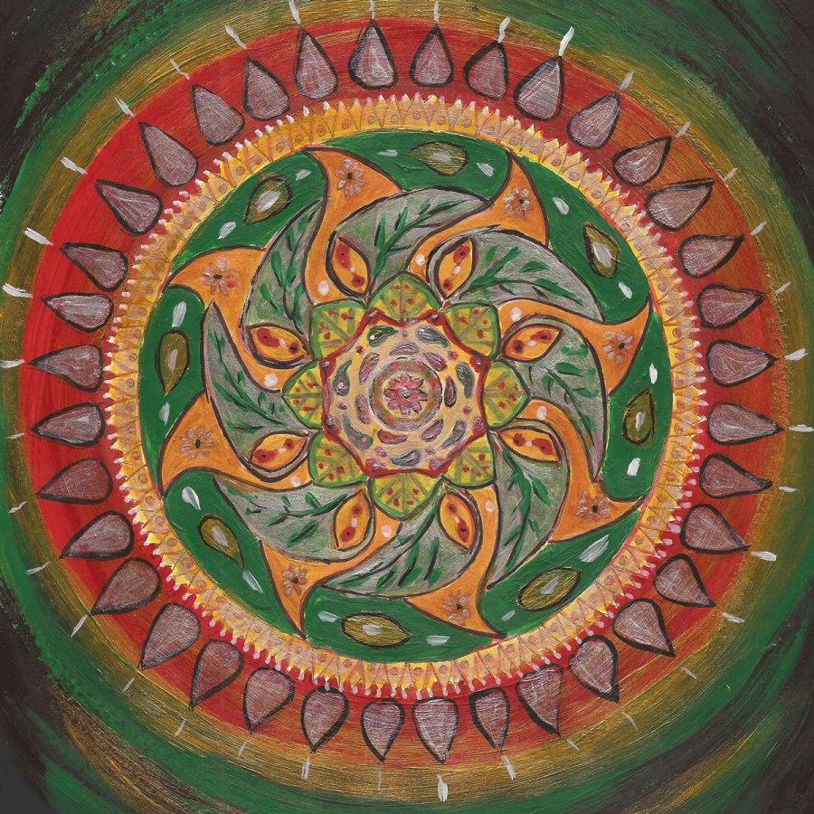 Rückzug vom Alltag.Mandala