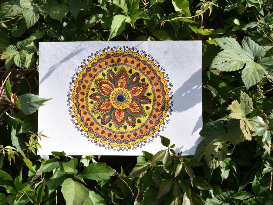 Mandala zum Sonntag