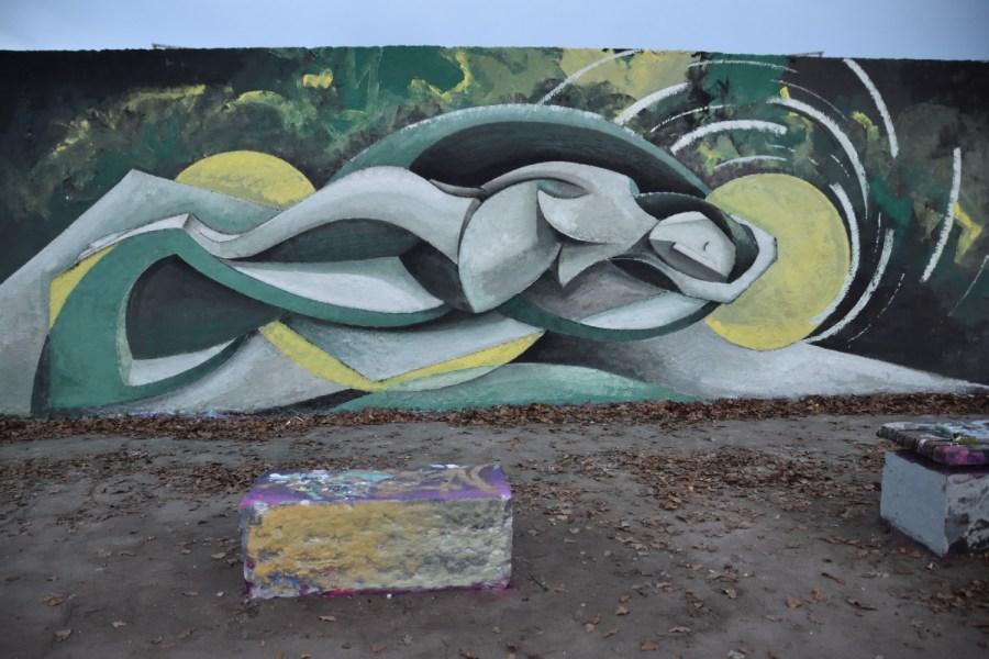 Streetart am Mauerpark, Dienstag,15.12.2020