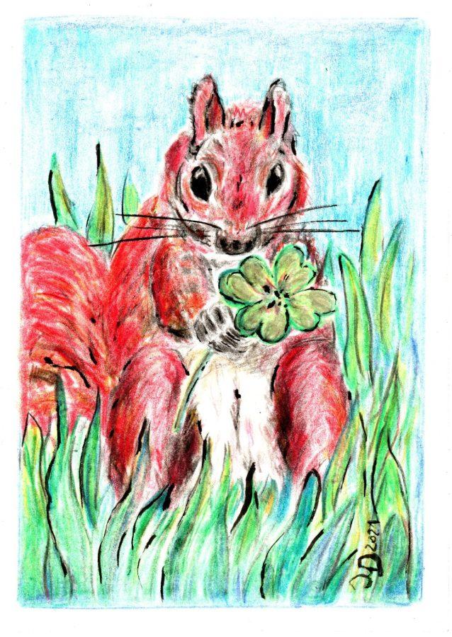 Glückshörnchen