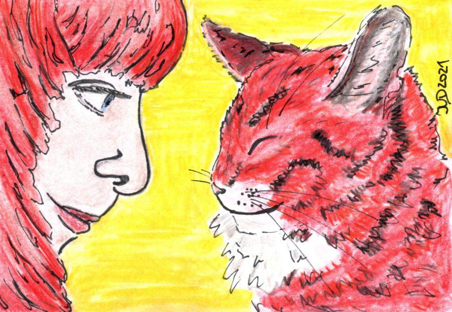 Katzencontent. Das Paar