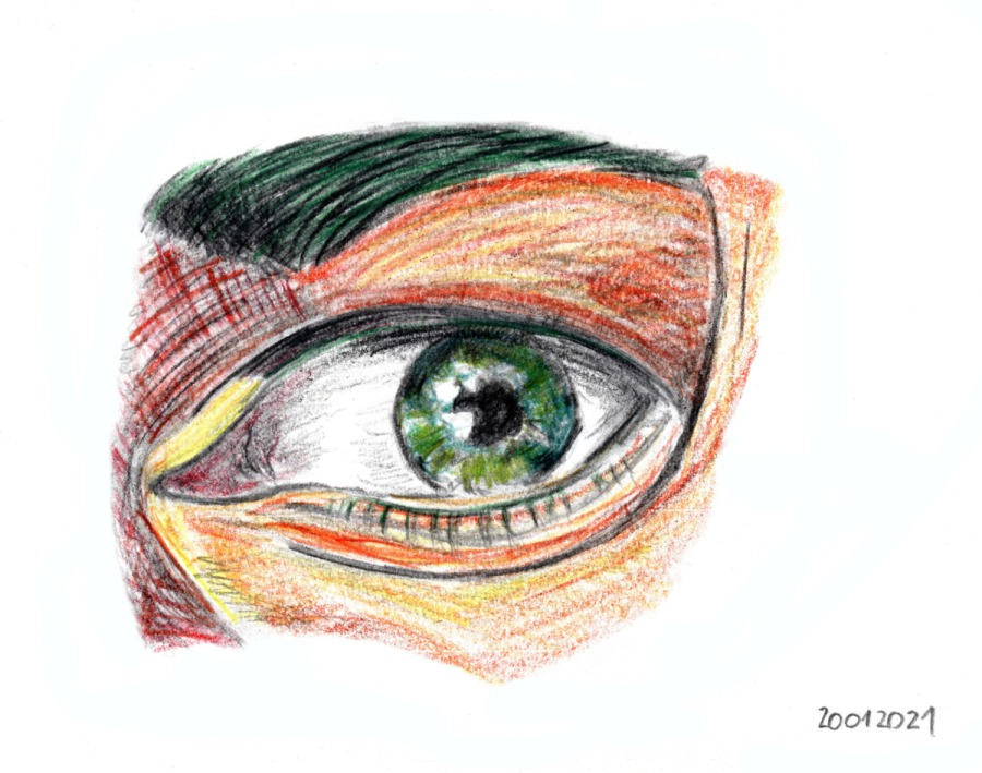 Mittwoch. Auge