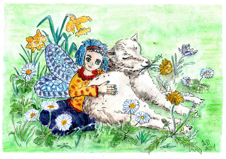 Koboldina wünscht … FroheOsterfeiertage